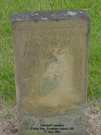 KING, ELIZABETH K. - Union County, Ohio | ELIZABETH K. KING - Ohio Gravestone Photos