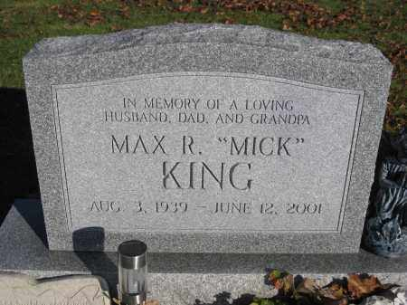KING, MAX R. - Union County, Ohio | MAX R. KING - Ohio Gravestone Photos