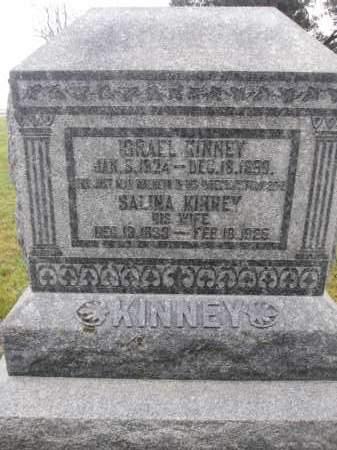 KINNEY, SALINA - Union County, Ohio | SALINA KINNEY - Ohio Gravestone Photos