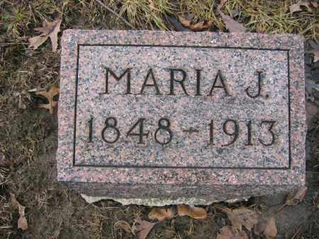 KINNEY, MARIA J. - Union County, Ohio   MARIA J. KINNEY - Ohio Gravestone Photos