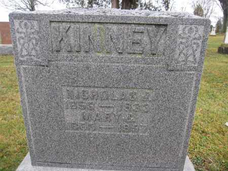 KINNEY, MARY C. SHISLER - Union County, Ohio | MARY C. SHISLER KINNEY - Ohio Gravestone Photos