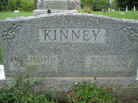 KINNEY, RALPH FRANKLIN - Union County, Ohio | RALPH FRANKLIN KINNEY - Ohio Gravestone Photos