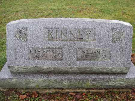 KINNEY, WILLIAM W. - Union County, Ohio | WILLIAM W. KINNEY - Ohio Gravestone Photos