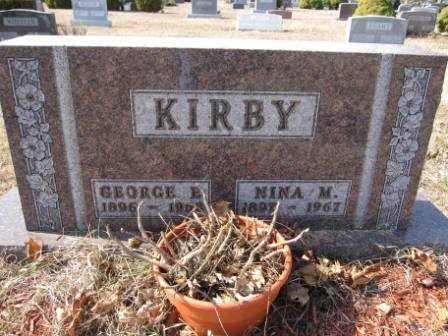 KIRBY, NINA M. - Union County, Ohio | NINA M. KIRBY - Ohio Gravestone Photos