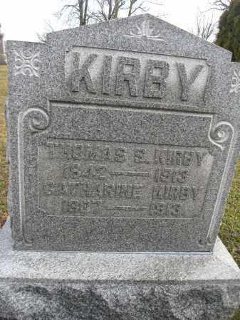 KIRBY, CATHARINE - Union County, Ohio | CATHARINE KIRBY - Ohio Gravestone Photos