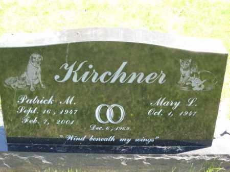KIRCHNER, MARY L. - Union County, Ohio | MARY L. KIRCHNER - Ohio Gravestone Photos
