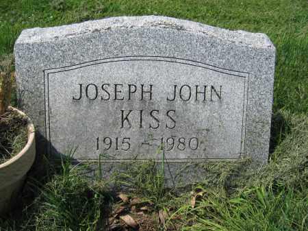 KISS, JOSEPH JOHN - Union County, Ohio | JOSEPH JOHN KISS - Ohio Gravestone Photos