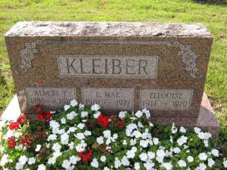 KLEIBER, C. MAE - Union County, Ohio | C. MAE KLEIBER - Ohio Gravestone Photos