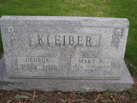 KLEIBER, MARY B. - Union County, Ohio | MARY B. KLEIBER - Ohio Gravestone Photos