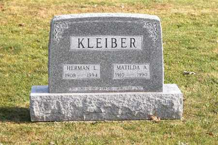 KLEIBER, HERMAN L. - Union County, Ohio | HERMAN L. KLEIBER - Ohio Gravestone Photos