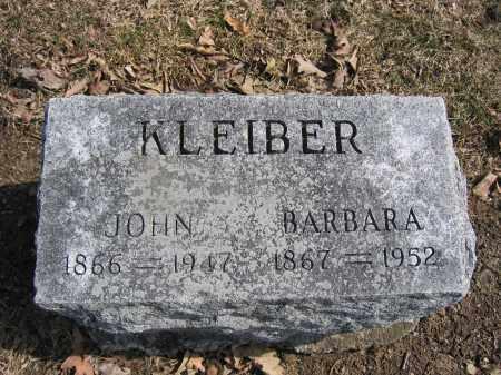 KLEIBER, JOHN - Union County, Ohio | JOHN KLEIBER - Ohio Gravestone Photos
