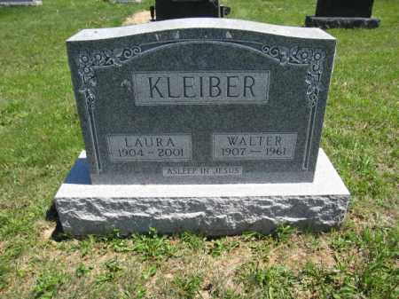 KLEIBER, WALTER - Union County, Ohio | WALTER KLEIBER - Ohio Gravestone Photos