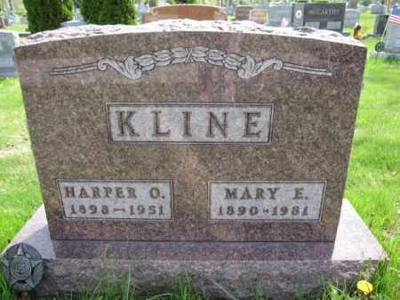 KLINE, HARPER O. - Union County, Ohio | HARPER O. KLINE - Ohio Gravestone Photos