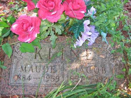 KLINE, MAUDE - Union County, Ohio | MAUDE KLINE - Ohio Gravestone Photos