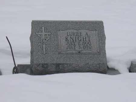 KNIGHT, LURIEE A. - Union County, Ohio | LURIEE A. KNIGHT - Ohio Gravestone Photos