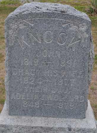 KNOCK, GRACY - Union County, Ohio | GRACY KNOCK - Ohio Gravestone Photos