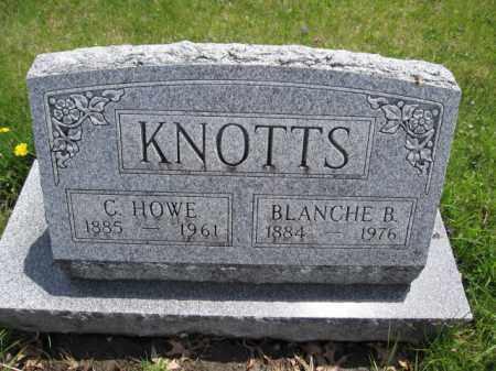 KNOTTS, C. HOWE - Union County, Ohio | C. HOWE KNOTTS - Ohio Gravestone Photos