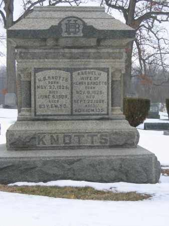 KNOTTS, H.B. - Union County, Ohio | H.B. KNOTTS - Ohio Gravestone Photos