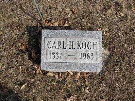 KOCH, CARL H. - Union County, Ohio | CARL H. KOCH - Ohio Gravestone Photos