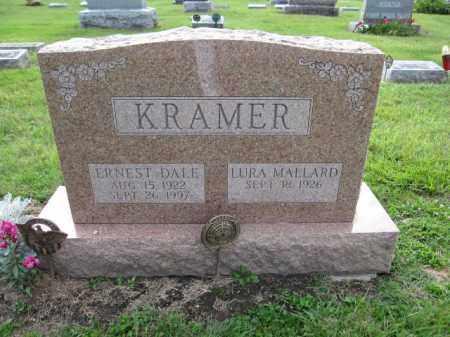 KRAMER, ERNEST DALE - Union County, Ohio | ERNEST DALE KRAMER - Ohio Gravestone Photos