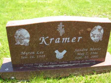 KRAMER, MYRON LEE - Union County, Ohio | MYRON LEE KRAMER - Ohio Gravestone Photos