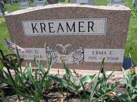 KREAMER, ERMA E. - Union County, Ohio   ERMA E. KREAMER - Ohio Gravestone Photos