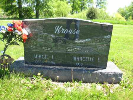 KROUSE, VIRGIL L. - Union County, Ohio | VIRGIL L. KROUSE - Ohio Gravestone Photos