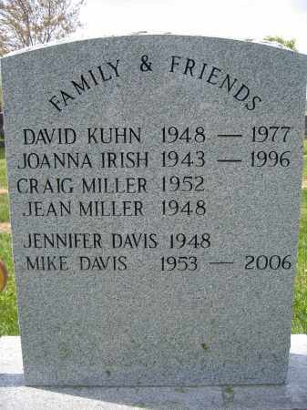 KUHN, DAVID - Union County, Ohio | DAVID KUHN - Ohio Gravestone Photos