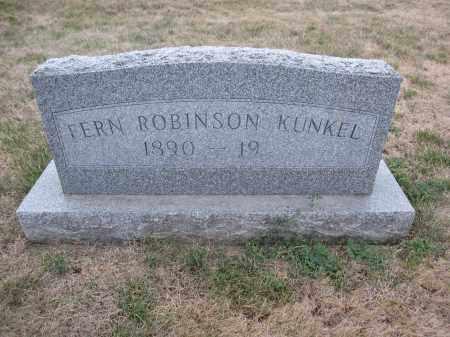 KUNKEL, FERN ROBINSON - Union County, Ohio   FERN ROBINSON KUNKEL - Ohio Gravestone Photos