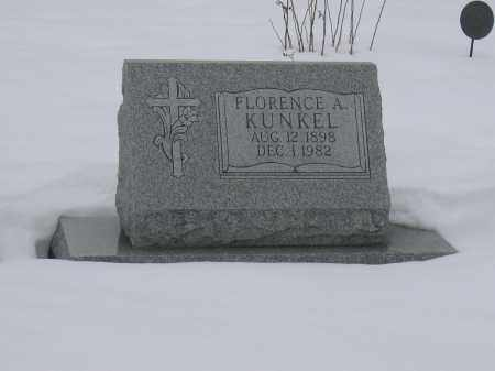 KUNKEL, FLORENCE A. - Union County, Ohio | FLORENCE A. KUNKEL - Ohio Gravestone Photos