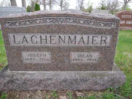 LACHENMAIER, IREAN - Union County, Ohio | IREAN LACHENMAIER - Ohio Gravestone Photos