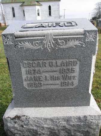 LAIRD, OSCAR O. - Union County, Ohio   OSCAR O. LAIRD - Ohio Gravestone Photos