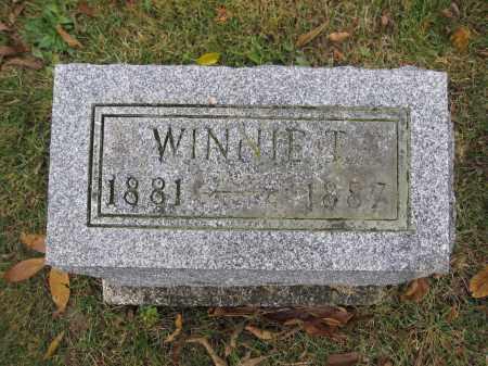 LAIRD, WINNIE T. - Union County, Ohio | WINNIE T. LAIRD - Ohio Gravestone Photos