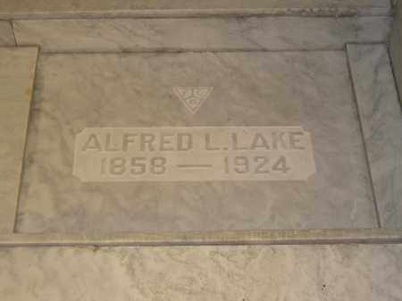 LAKE, ALFRED L. - Union County, Ohio | ALFRED L. LAKE - Ohio Gravestone Photos