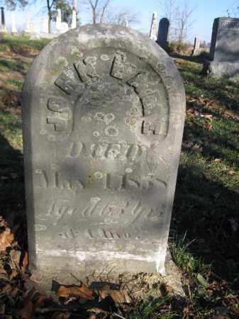 LAME, JOHN - Union County, Ohio | JOHN LAME - Ohio Gravestone Photos
