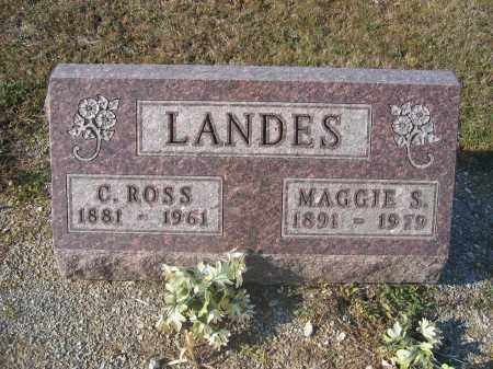 LANDES, C. ROSS - Union County, Ohio | C. ROSS LANDES - Ohio Gravestone Photos