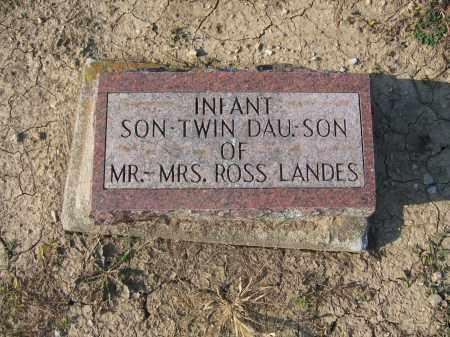 LANDES, INFANT SON - Union County, Ohio | INFANT SON LANDES - Ohio Gravestone Photos