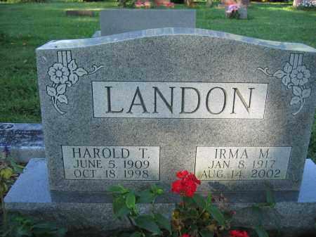 LANDON, IRMA M. - Union County, Ohio | IRMA M. LANDON - Ohio Gravestone Photos