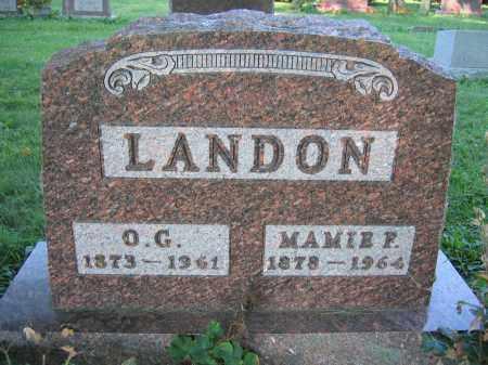 LANDON, MAMIE F. - Union County, Ohio | MAMIE F. LANDON - Ohio Gravestone Photos