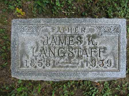 LANGSTAFF, JAMES K. - Union County, Ohio   JAMES K. LANGSTAFF - Ohio Gravestone Photos