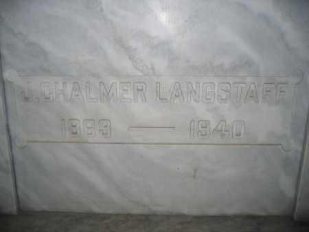 LANGSTAFF, JAMES CHALMER - Union County, Ohio | JAMES CHALMER LANGSTAFF - Ohio Gravestone Photos