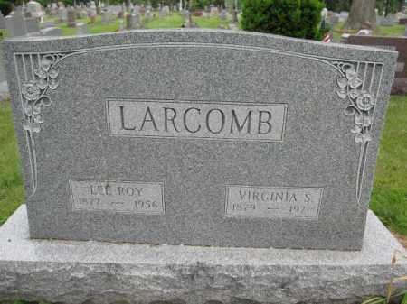 LARCOMB, VIRGINIA SHIELDS - Union County, Ohio | VIRGINIA SHIELDS LARCOMB - Ohio Gravestone Photos