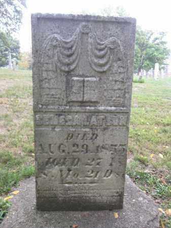 LATSON, SENECA - Union County, Ohio   SENECA LATSON - Ohio Gravestone Photos