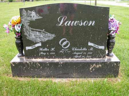 LAWSON, WALTER H. - Union County, Ohio | WALTER H. LAWSON - Ohio Gravestone Photos