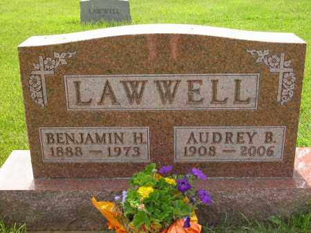 LAWWELL, AUDREY B. - Union County, Ohio | AUDREY B. LAWWELL - Ohio Gravestone Photos
