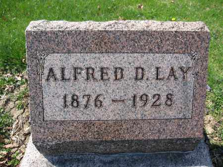 LAY, ALFRED D. - Union County, Ohio | ALFRED D. LAY - Ohio Gravestone Photos
