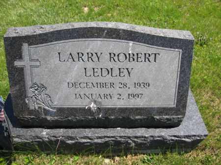 LEDLEY, LARRY ROBERT - Union County, Ohio | LARRY ROBERT LEDLEY - Ohio Gravestone Photos