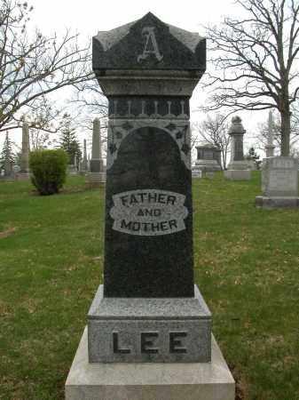 LEE, MARY A. - Union County, Ohio   MARY A. LEE - Ohio Gravestone Photos