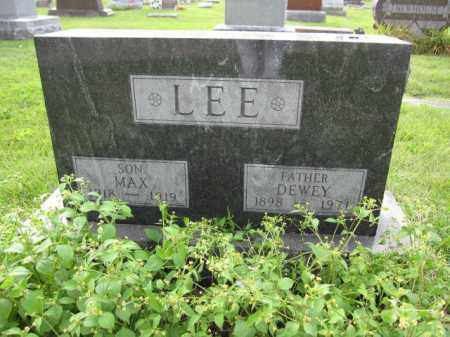 LEE, MAX - Union County, Ohio | MAX LEE - Ohio Gravestone Photos