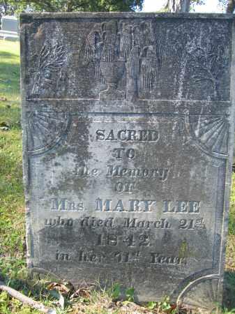 LEE, MARY - Union County, Ohio   MARY LEE - Ohio Gravestone Photos